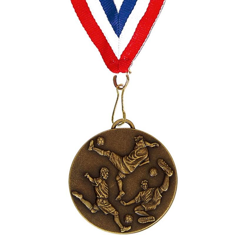 Target60 Football Medal with RWB