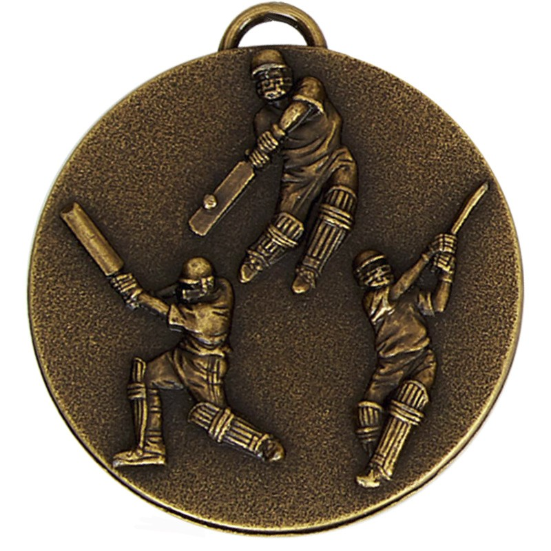 Target50 Cricket Medal with RWB