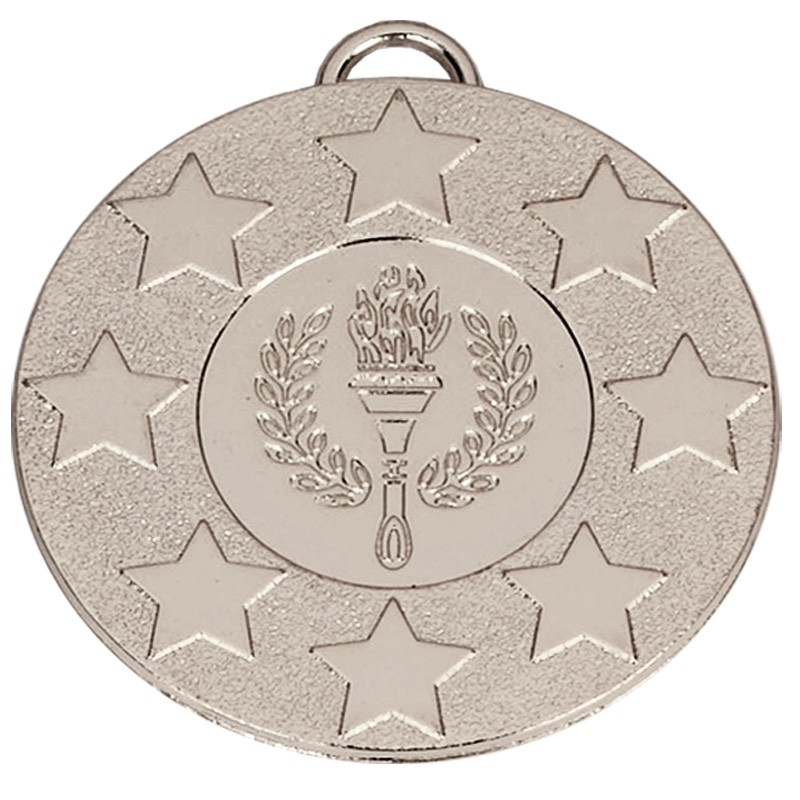 Target50 Stars Medal with RWB 22mm