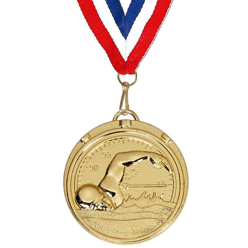 Target50 Swimming Medal with RWB