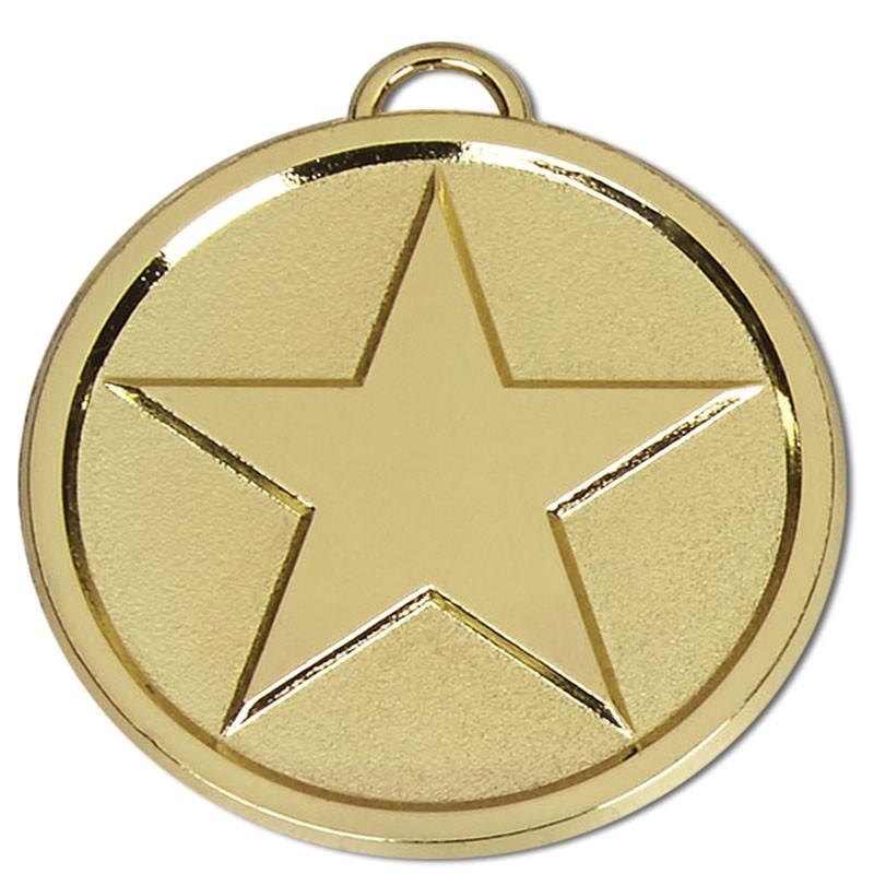 Star50 Bright Medal