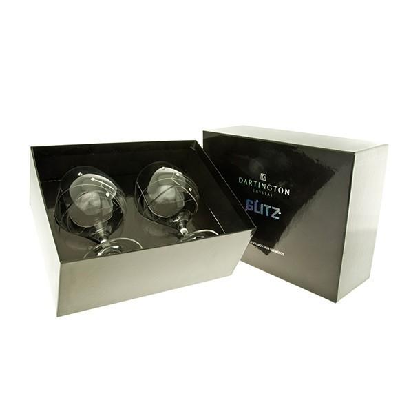 1 Pair Brandy/Liqueur Glasses - Glitz