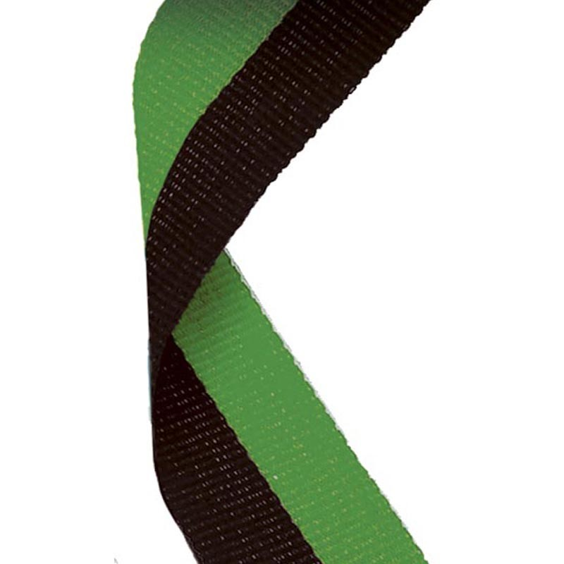Medal Ribbon Black & Green