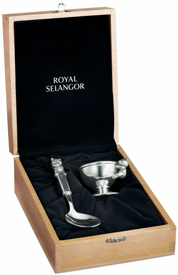 Egg, Cup & Spoon set (in a gift box)