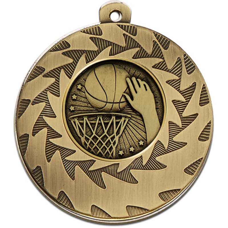 Prism50 Basketball Medal