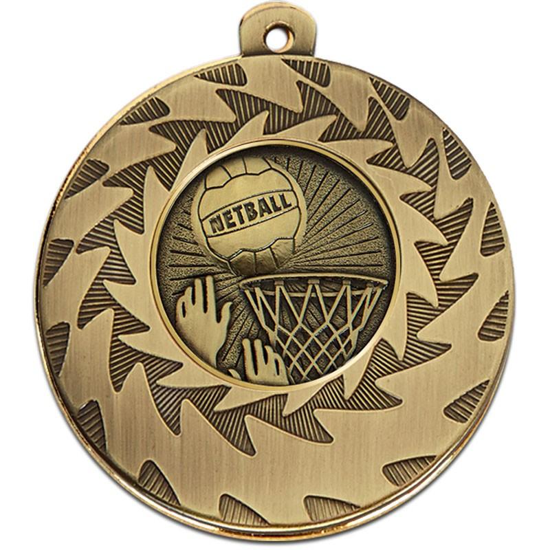 Prism50 Netball Medal