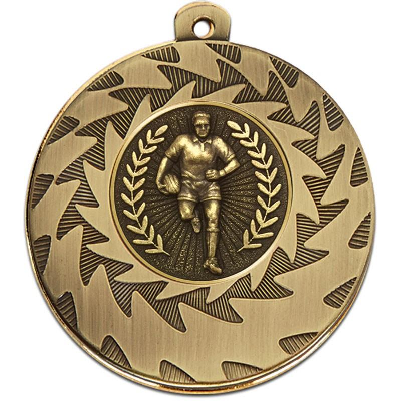 Prism50 Rugby Medal