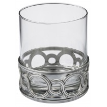 Whiskey Tumbler, Medallion