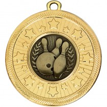 VF Star Ten Pin Bowling Medal