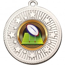 VF Star Rugby Ball Medal