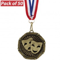 Pack of 50 Drama Combo Medals