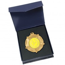 Gold 3rd Medal in box
