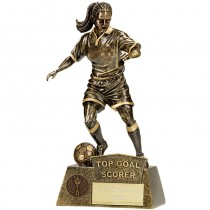 Pinnacle Female Football Top Goal S