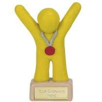 Clay Medal Winner Yellow