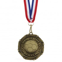 COMBO Man of the Match Medal with 1