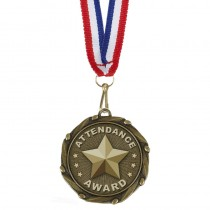 COMBO Attendance Medal with 10mm R/