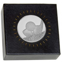 Nordic Golf Medal in Clear case and
