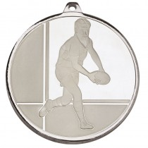 Frosted Glacier Rugby Medal