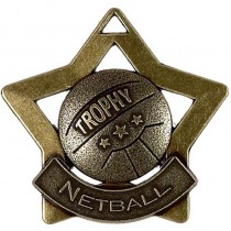 Mini Star Netball Medal
