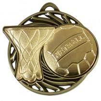 Vortex Netball Medal
