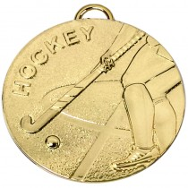 Target50 Hockey Medal with RWB