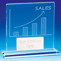 Sales Award Glass