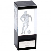 Orbit Black Football Crystal