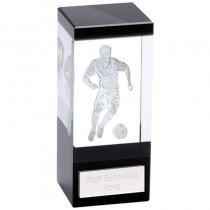 Orbit Black Football Crystal