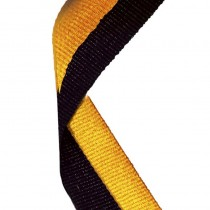 Medal Ribbon Black & Gold