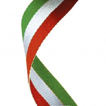 Medal Ribbon Red White & Green