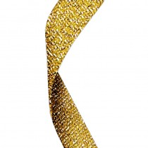 Glitter Ribbon Gold